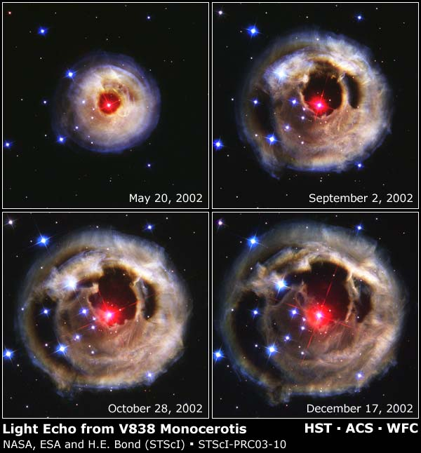 V838 Monocerotis Light Echo Evolution